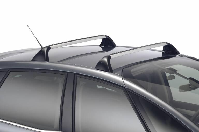 JUEGO DE 2 BARRAS DE TECHO TRANSVERSALES Aluminio