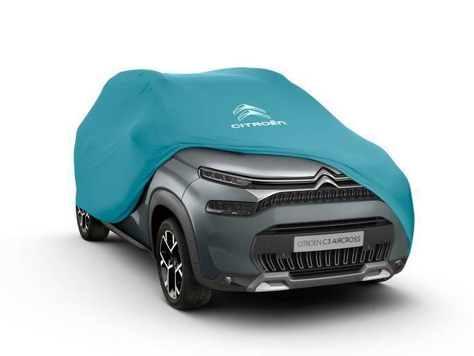 Schutzbezug zur Fahrzeugpräsentation (GRÖSSE 3)