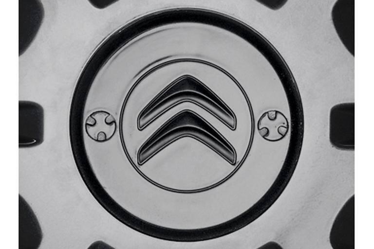 MITTLERE ABDECKUNG FÜR GESICHERTE RADZIERBLENDE Mit Citroën-Logo